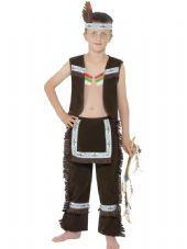 Childs Indian Boy Costume